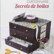 Cartonnage secrets de boite